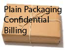 Plain packaging - Confidential Billing